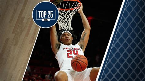 college basketball rankings  rutgers  ranked