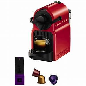 Nespresso Inissia Krups : buy nespresso inissia coffee machine by krups red john ~ Melissatoandfro.com Idées de Décoration