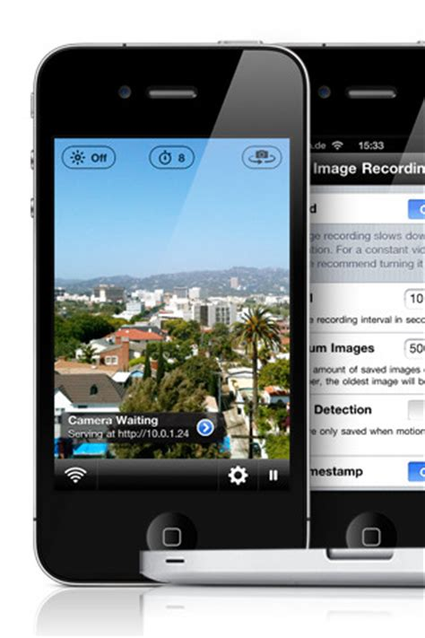 use android phone as security smartphone as a wireless surveillance