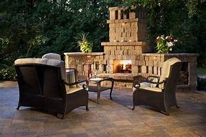 Outdoor, Fireplace, Design, Ideas
