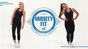 Get Fit With The Varsity Fit Training Guide
