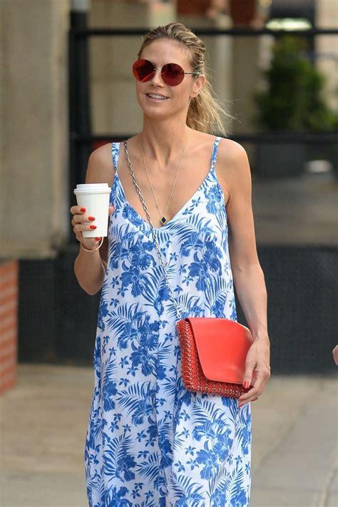 Heidi Klum Out For Coffee New York Hawtcelebs