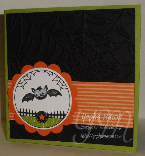 stamps googly ghouls ink stazon jet black paper lucky