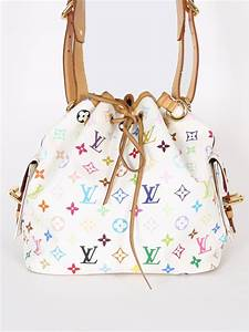 Louis Vuitton Noe Petit : louis vuitton petit no monogram multicolore canvas blanc luxury bags ~ Eleganceandgraceweddings.com Haus und Dekorationen