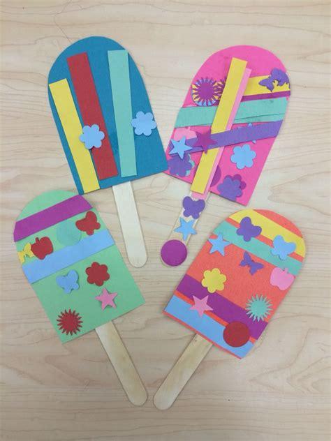 popsicle summer summer camp summer projects craft 769 | 9dfcbbe885699e3b4b81ba50c572c0d6