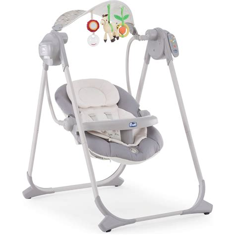 polly swing chicco polly swing up kiik silver chicco