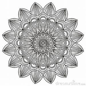 Henna Muster Schablone : mandala vektor abbildung bild 43639682 ~ Frokenaadalensverden.com Haus und Dekorationen