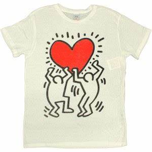 T Shirt Keith Haring : t shirt obey tees limited series keith haring red heart white temple of deejays ~ Melissatoandfro.com Idées de Décoration