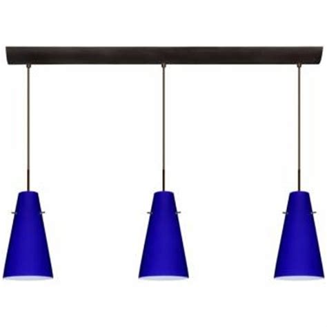 cobalt blue pendant lighting a home