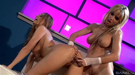 Blonde MILFs Anita Dark And Angie Savage Playing With Sex