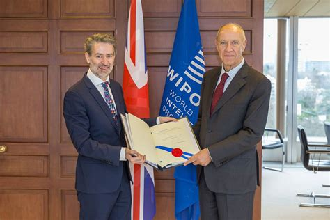 international bureau wipo uk ratifies hague agreement for industrial designs gov uk