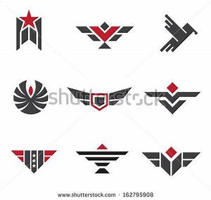 Army and military badges and strength logo icon symbols ...