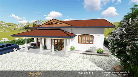 house plans  sri lanka single story home planskedella