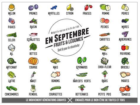 légumes de septembre fruits et l 233 gumes de septembre g 233 n 233 rations cobayes