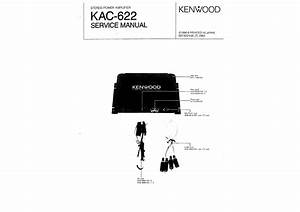 Car Audio Speakers  Kenwood Kac 622 Wiring Diagram