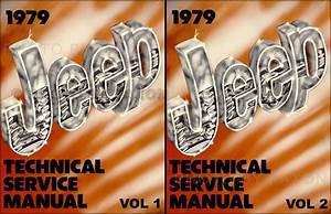 1979 Jeep Repair Shop Manual Original