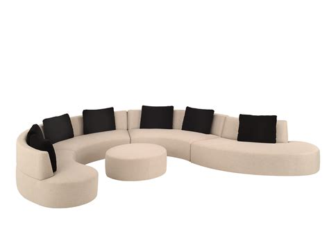 sofas tables and more using curved sectional sofa for an exciting living room