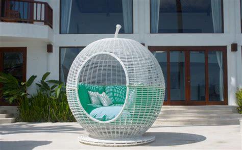 skyline design iglu daybed modern patio furniture and