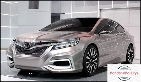 Honda Accord 2020 Redesign by 2020 Honda Accord Redesign Release Date And Price 2018