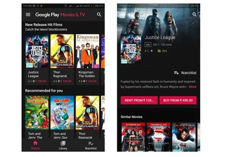 Google Play Movies & Tv App Looks Smarter With Version 4.2