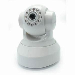 Camera De Surveillance Interieur : cam ra de surveillance wifi rotative blyss int rieur ~ Carolinahurricanesstore.com Idées de Décoration