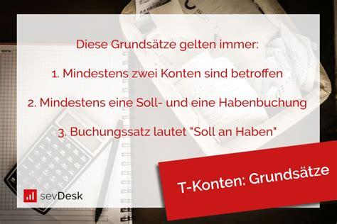 In deutschland wird zur differenzierung der kontenrahmen zwischen industriekontenrahmen, gemeinschaftskontenrahmen und standardkontenrahmen unterschieden. T-Konten - sevDesk
