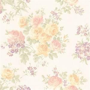 989-64842 Pastel Floral Trail - Ivana - Mirage Wallpaper