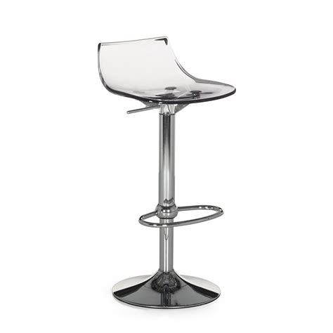 tabouret de bar plexi chaise bar transparente