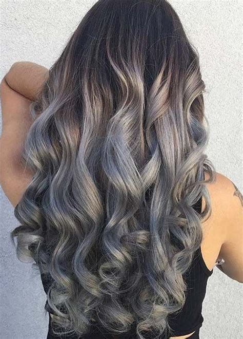 silver hair color ideas  tips  dyeing