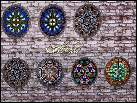 sims  blog murfeels  stained glass windows  abuk