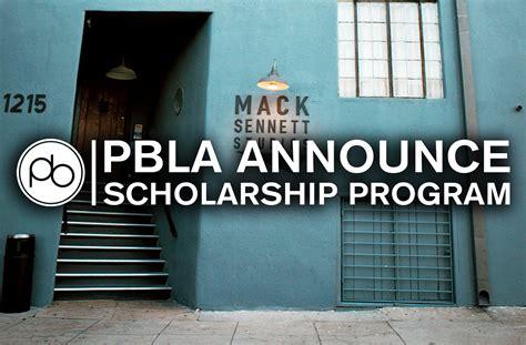 PBLA Launch Scholarship Program
