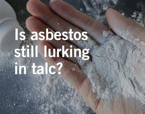 talc asbestos exposure  everyday objects waters kraus