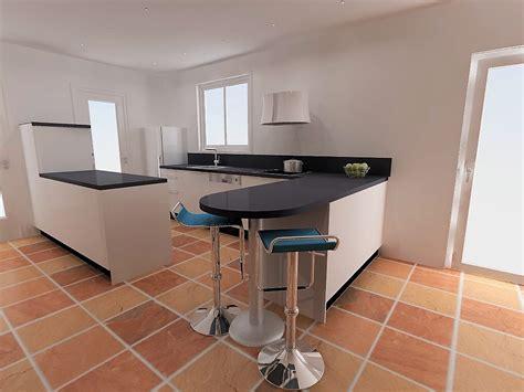 plan de travail cuisine arrondi table plan de travail arrondi maison design bahbe com