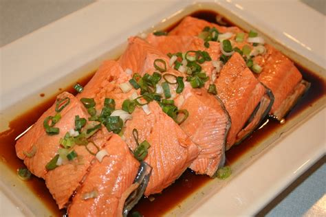 cooking salmon cook with susan poached salmon chinese style