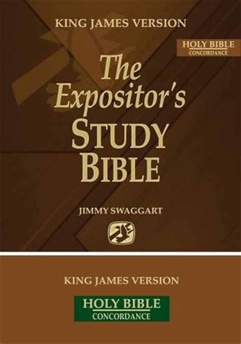 expositors study bible  jimmy swaggart reviews