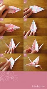 Origami Kranich Anleitung : origami kraniche falt anleitung papier pinterest origami origami anleitungen und origami ~ Frokenaadalensverden.com Haus und Dekorationen