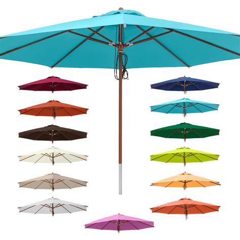 sonnenschirm 4m durchmesser anndora de anndora sonnenschirm marktschirm gastronomie 248 4 m rund mit winddach farbauswahl