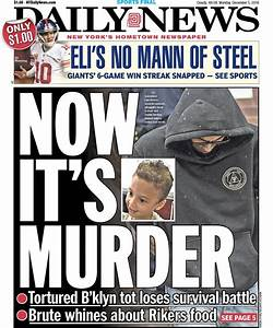 Tomorrow's front page: now it's murder -tortured brooklyn ...