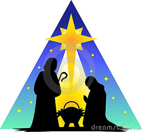 holy family silhouetteeps royalty  stock photo