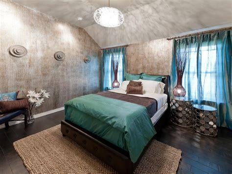 master bedroom  metallic faux painted walls hgtv