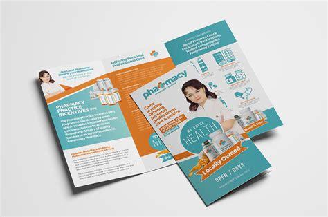 Pharmacy Brochure Template Free Pharmacy Tri Fold Brochure Template Psd Ai Vector