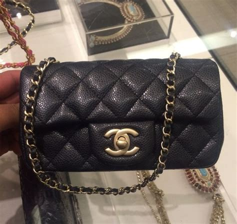 chanel extra mini classic flap bag reference guide spotted fashion