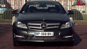 Mercedes Classe C Noir : essai mercedes classe c coup 2011 youtube ~ Dallasstarsshop.com Idées de Décoration