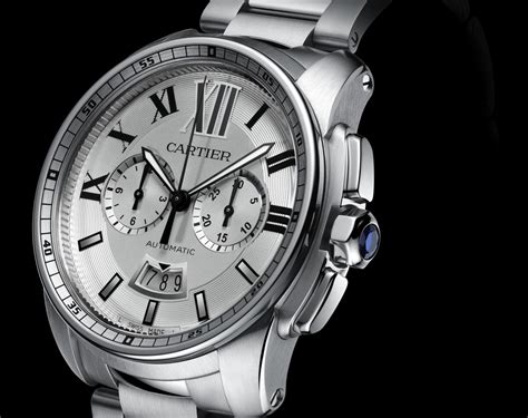 Calibre De Cartier Chronograph For Sihh 2013 Review