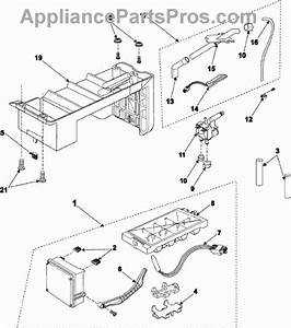 Samsung Refrigerator Ice Maker Parts Diagram