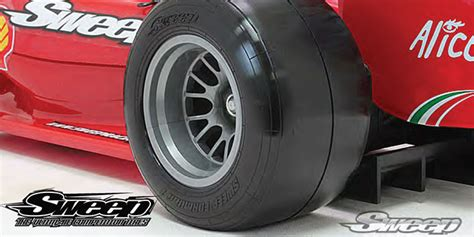 Sweep 1/10 Formula One Wheels And Tyres