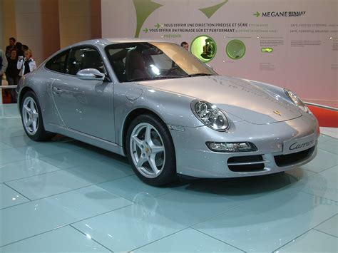 silver porsche carrera file 2004 silver porsche 911 carrera type 997 jpg