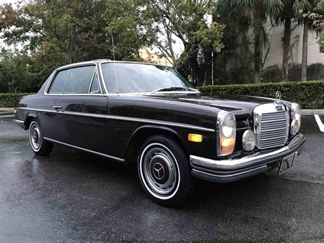 The car retains its original 2.5l 6 cylinder engine that runs and idles well matched with an automatic transmission the drive is very smooth. 1972 Mercedes-Benz 250C for Sale   ClassicCars.com   CC-1035503