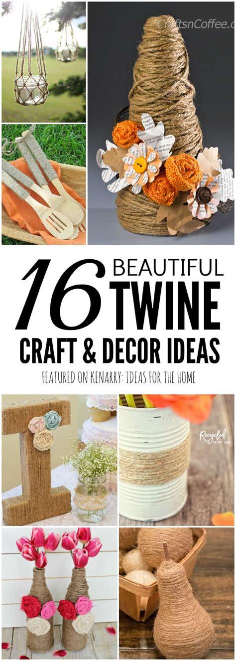 jute craft ideas  diy projects  decor  burlap twine