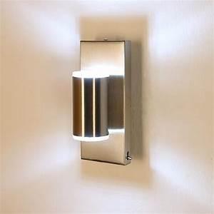 Kleine Led Leuchten : kleine led wandleuchte mit tollem lichtspiel wohnlicht ~ Markanthonyermac.com Haus und Dekorationen